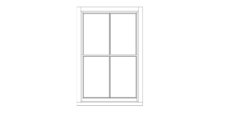 Sash window replacement full boxes