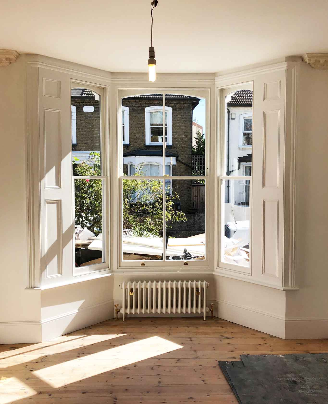 sash window replacement in bay