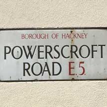Powerscroft Road, E5, Hackney, East London