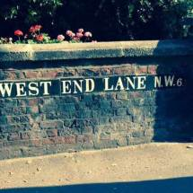 West End Lane, NW6, Hampstead, North West London