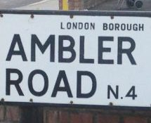 Ambler Road, N4, Islington, North London