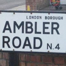 Ambler Road, N4, Islington, North London