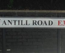 Antill Road, E3, Bow, East London