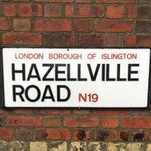 Hazellville Road, N19, Islington, North London