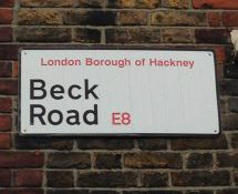 Beck Road, E8, Hackney, East London