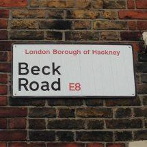 Beck Road, E8, Hackney, East London