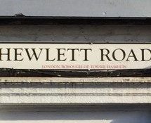 Hewlett Road, E3, Bow, East London