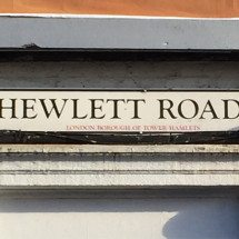 Hewlett Road, E3, Bow, East London