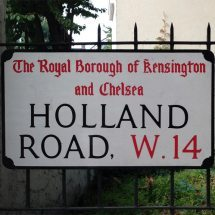 Holland Road, W14, Kensington and Chelsea, West London