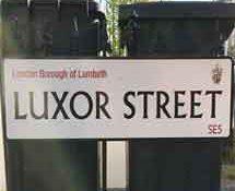 Luxor Street, SE5, Lambeth, South East London