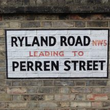Ryland Road, NW5, Camden, North West London