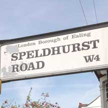 Speldhurst Road, W4, Ealing, West London