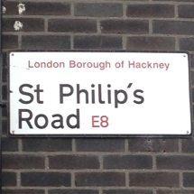 St Philip's Road, E8, Hackney, East London