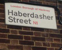 Haberdasher Street, N1, Hackney, North London