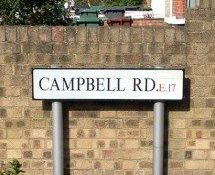 Campbell Road, E17, Tower Hamlets, East London