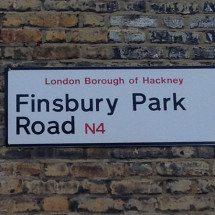 Finsbury Park Road, N4, Hackney, North London