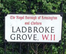 Ladbroke Grove, W11, Kensington and Chelsea, West London