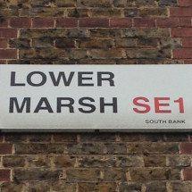 Lower Marsh, SE1, South Bank, South London