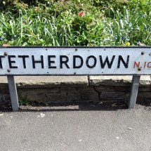 Tetherdown, N10, Muswell Hill, North London