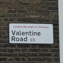 Valentine Road, E9, Hackney, East London