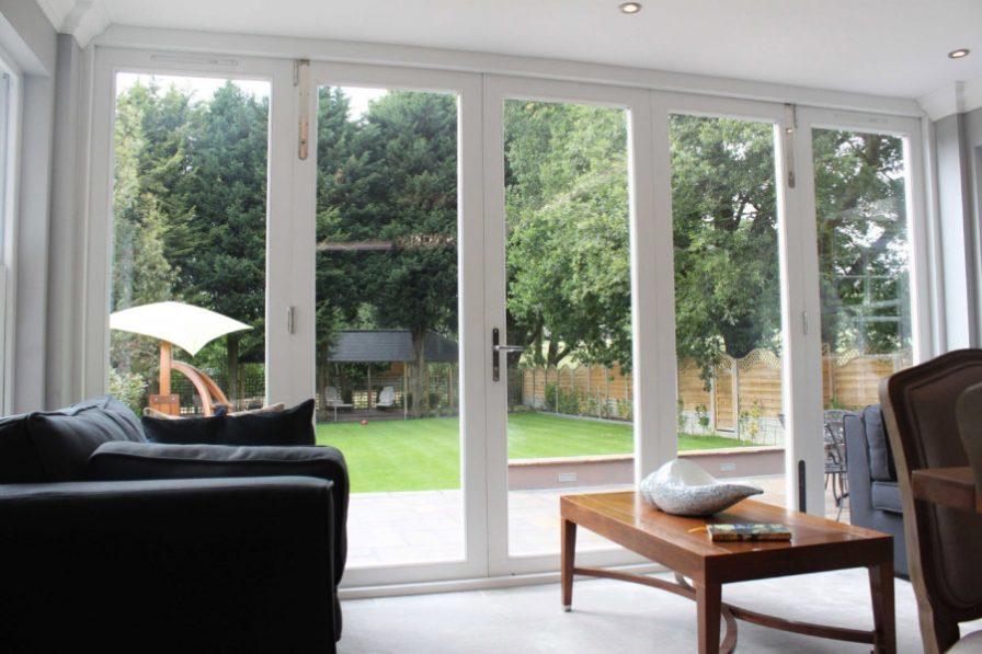 Gallery Image: Internal view of bi-fold doors