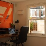 Gallery Image: Internal view of 1 over sash window in house office