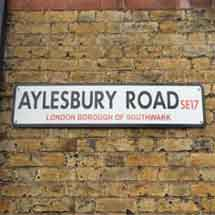 Aylesbury Road, SE17, Southwark, South East London