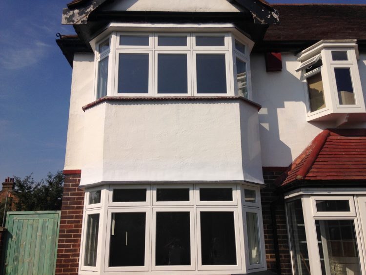 Gallery Image: External View of Casement Bay /w opening Fanlights