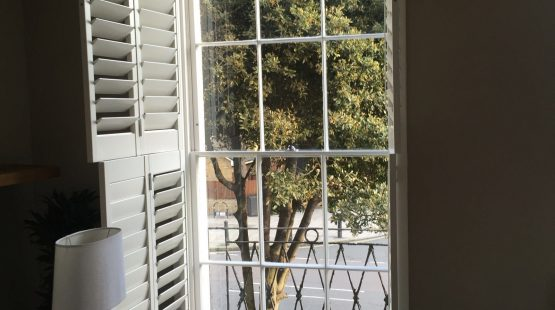 Gallery Image: Internal View Of Georgian 6 Over 6 Window With Plantation Shutters