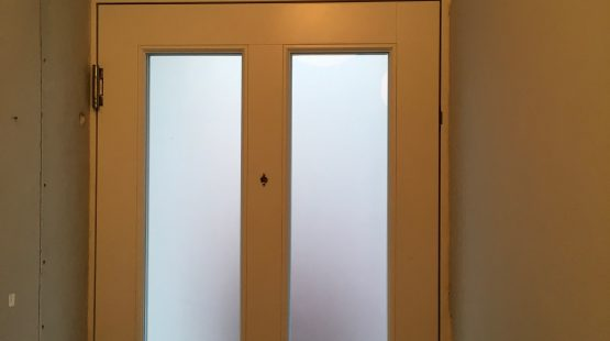 Gallery Image: Internal View of New Double Glazed Traditional Front Door /w Fixed Fanlight