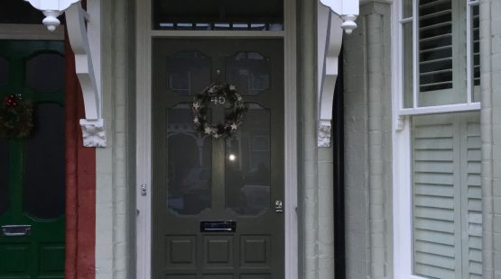 Gallery Image: Edwardian Style Front Door /w Satin Glass