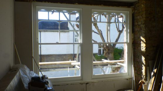 Gallery Image: Foster Style Sash Box In Property Undergoing Renovation
