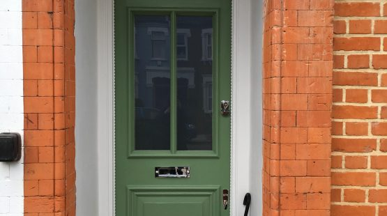 Gallery Image: Completed Refurbishment of Traditional Front Door