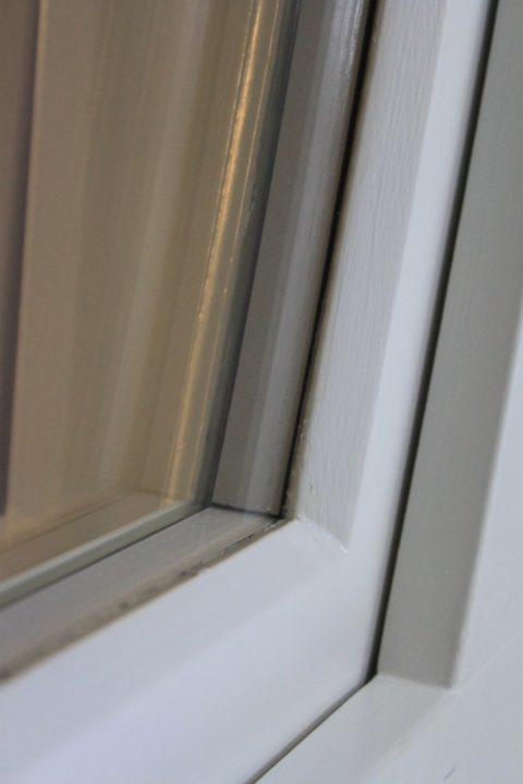 White Warm Edge Spacer Bars Core Sash Windows