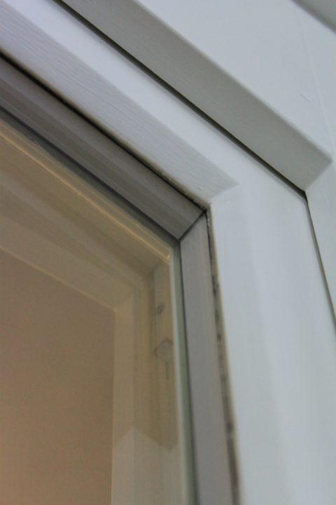 White Warm Edge Spacer Bars Core Sash Windows