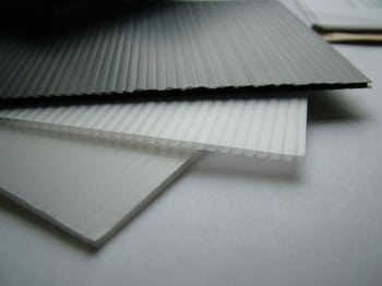 Correx sheets for dust protection