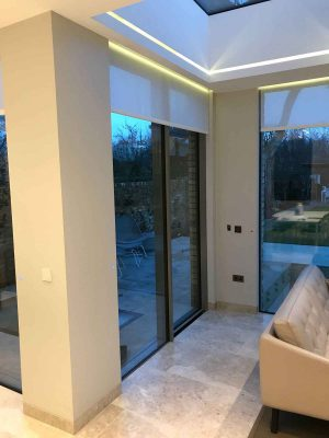 aluminium doors with sliding design