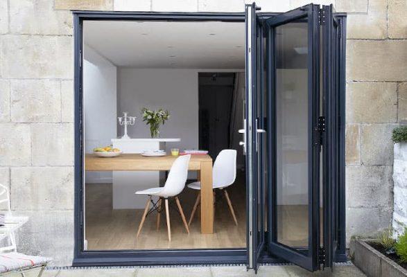 aluminium doors folding