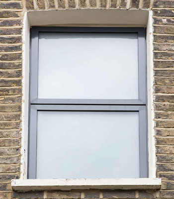 black aluminium windows in camden nw1