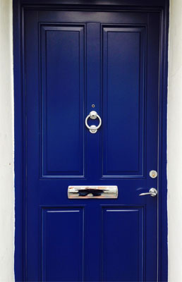 front-doors-blue-with-knocker-and-letterbox
