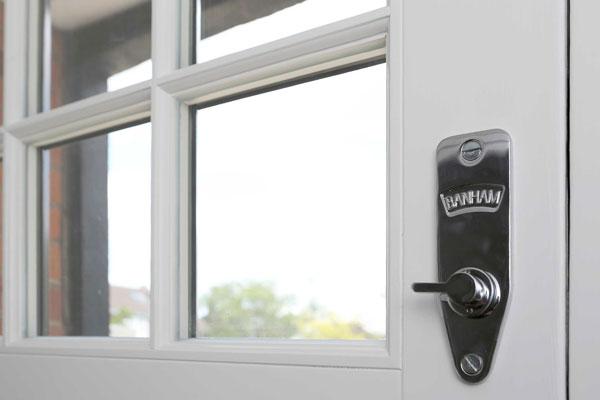 front-doors-closeup-banham-lock
