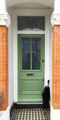 front-doors-green-with-timber-and-glass-panels