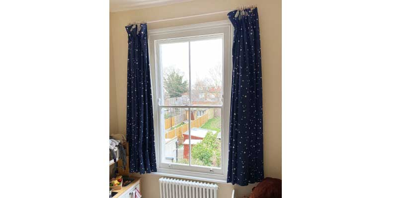 sash window draught proofing in waltham forest