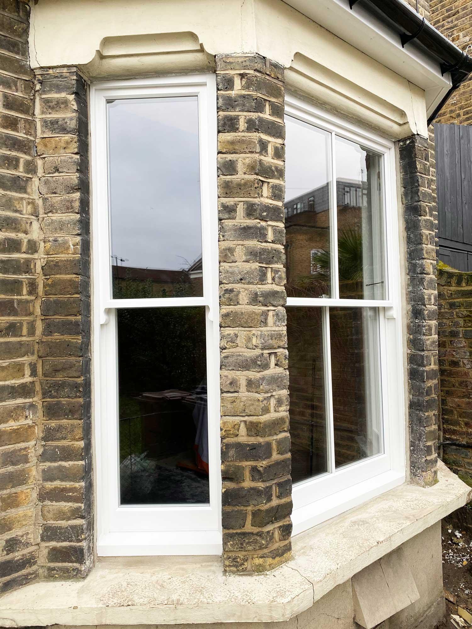 sash window bay replacement hackney