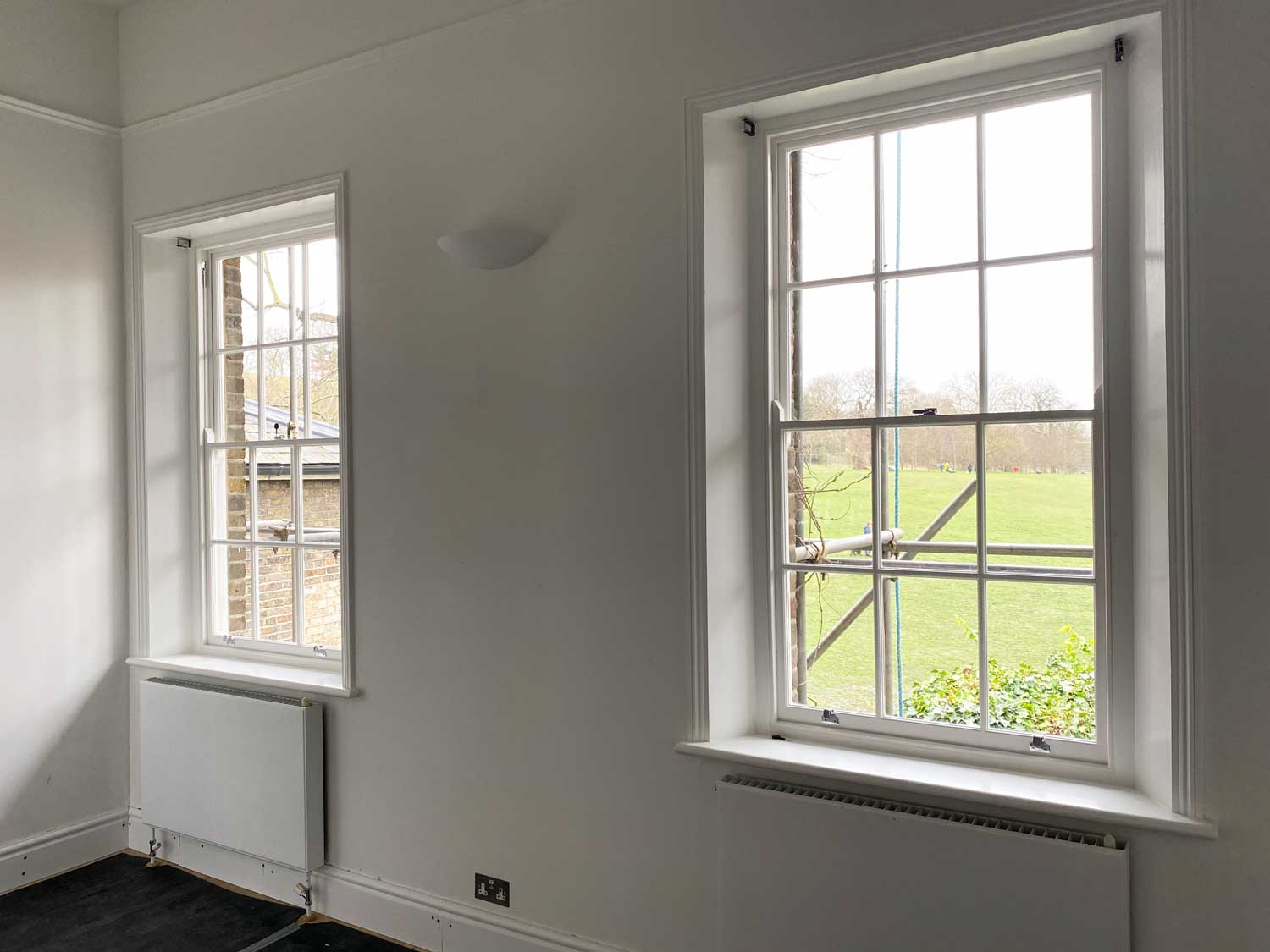 single glazed sash in greenwich