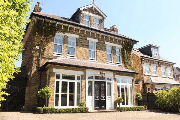 sash windows london front of house