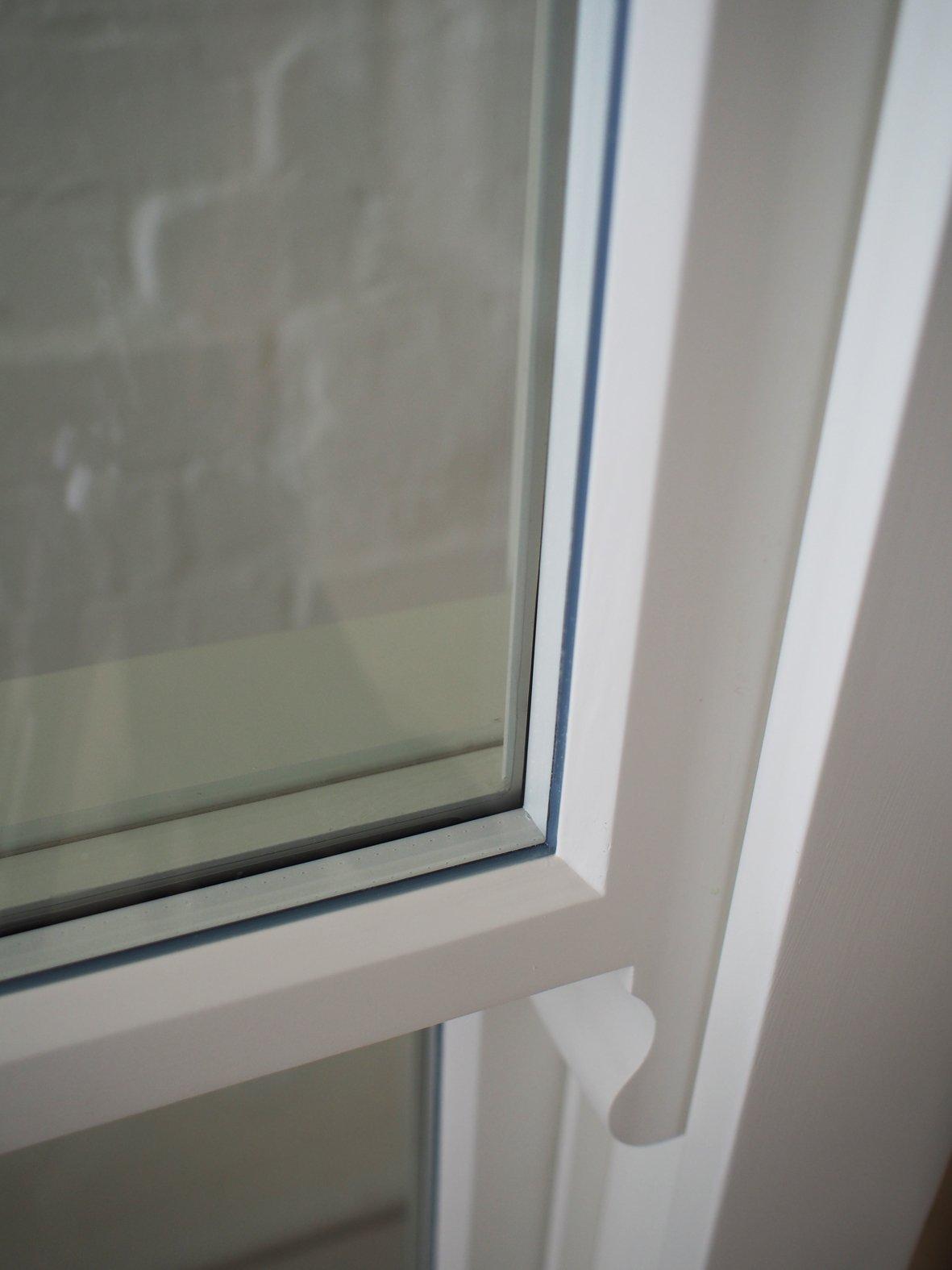 Double glazed sash windows detail