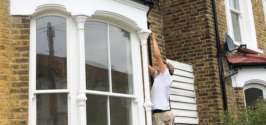 Double glazed sash windows fitting