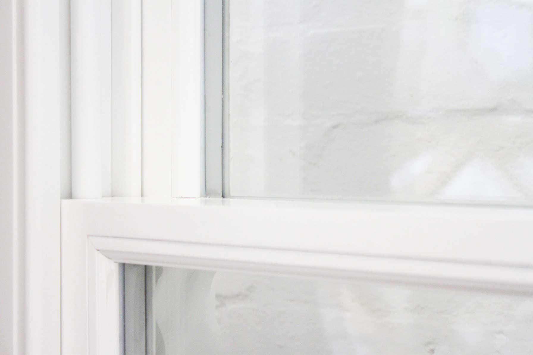 Double glazed sash windows spacer