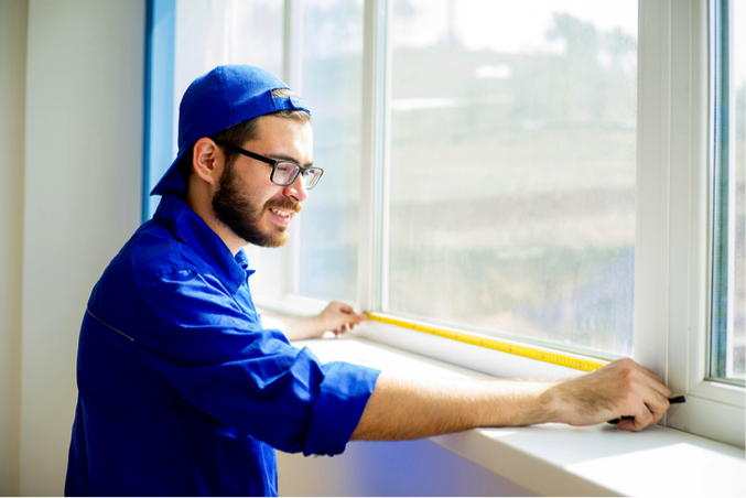 Measuring sash windows